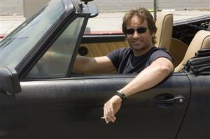 Californication. Episod 2. David Duchovny som Hank Moody.Foto: CBS/TV4.