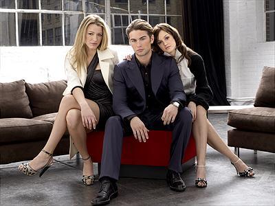 Gossip Girl på kanal 5 foto:warner bros.