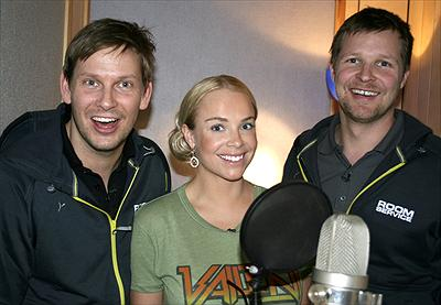 Johnnie Krigström, Marie Picasso & Mattias Särnholm. foto: kanal 5