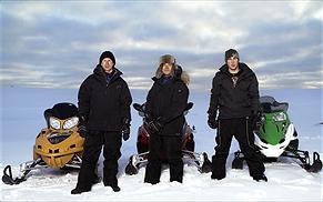 Frv. Anders, Per-Arne & Jonas. Foto:Magnus Selander/Kanal 5.