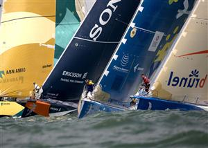 Volvo Ocean Race foto TV4