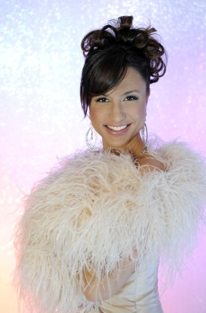 Programledare för Melodifestivalen 2009 är Petra Mede. Foto Carl-Johan Söder/SVT
