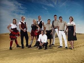 Charterhjältar Frv. Charlotta, André, Stine, Petter, Juan, Leydy, Goran, Nicholas och Lissy.
