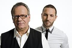 Olle Waller och Martin Björk. foto:Carlo Bosco/Kanal 5.